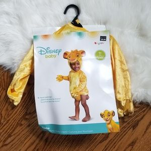 NEW 12-18 month simba lion king costume baby